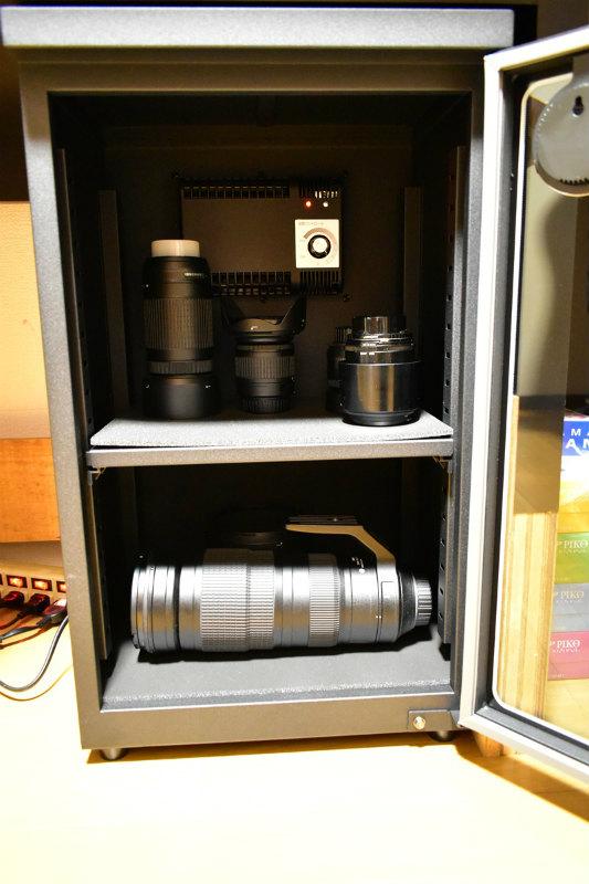 HAKUBA 電子防湿保管庫 E-ドライボックス