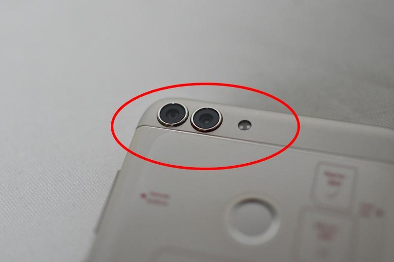 HUAWEI nova lite 2 ダブルレンズカメラ