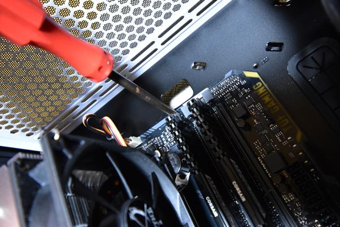 PCケースにマザーボード取付