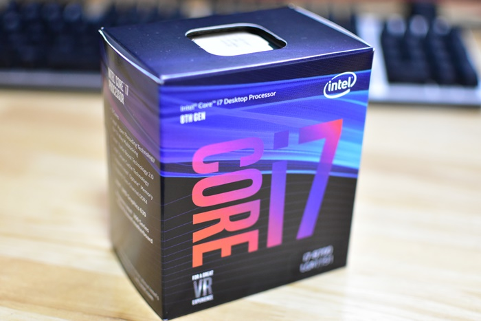 Intel CPU Core i7-8700 3.2GHz 12Mキャッシュ 6コア/12スレッド LGA1151