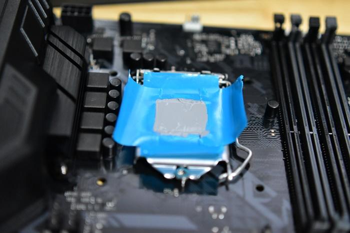 CPUに綺麗にグリスを塗るための方法