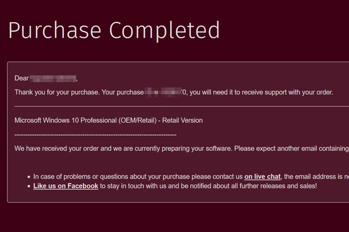 PSNGamesでWindow10を購入